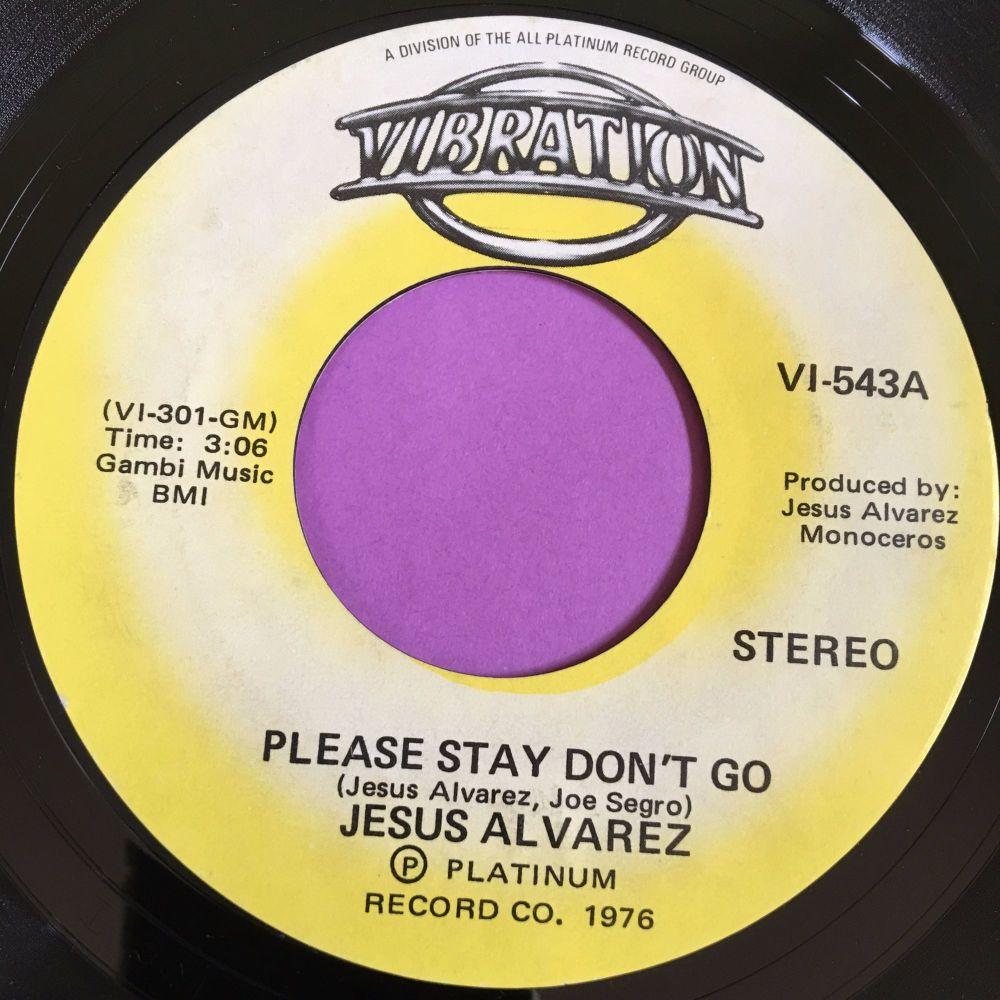Jesus Alvarez-Please stay don't go-Vibration E+