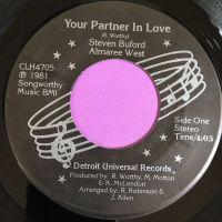 Steve Buford & Almaree West-Your partner in love-DUR E+