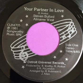 Steve Buford & Almaree West-Your partner in love-DUR E+