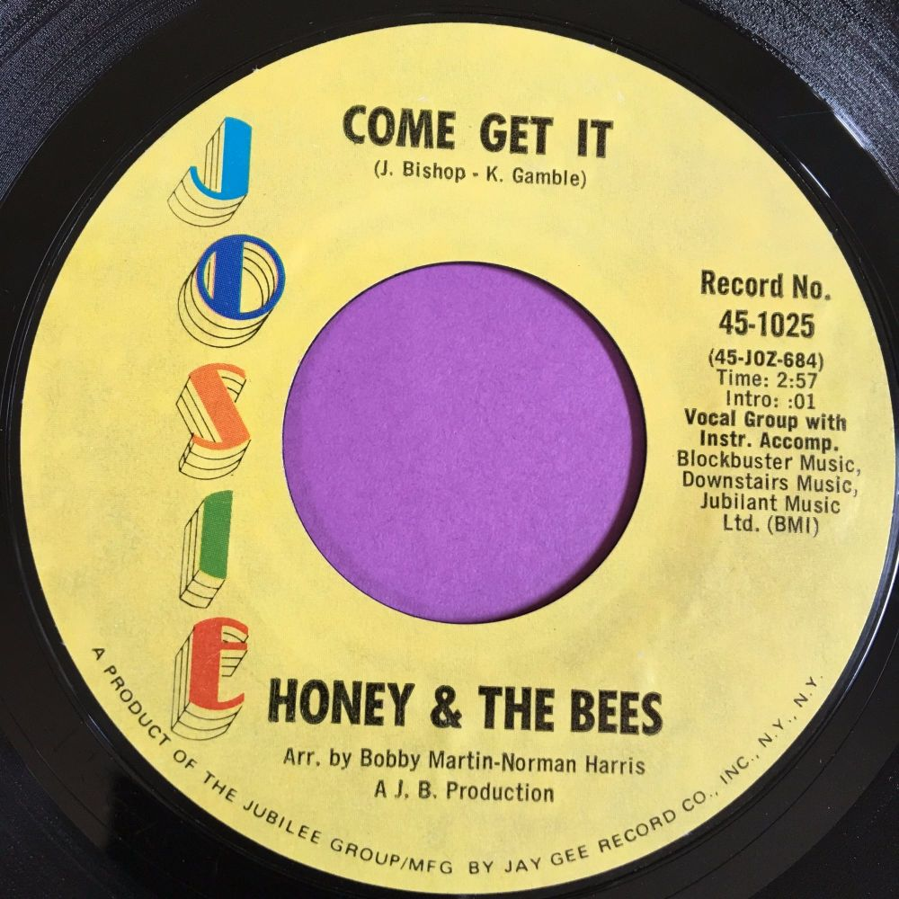 Honey & The Bees-Come get it-Josie E+