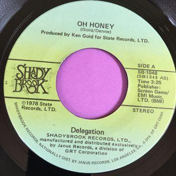 Delegation-Oh Honey-Shady brook E+