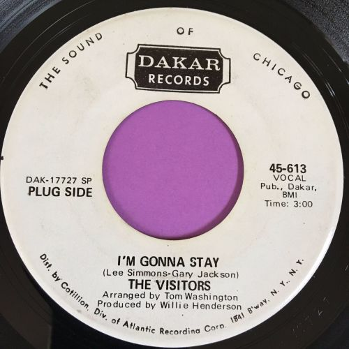 Visitors-I'm gonna stay-Dakar WD E+