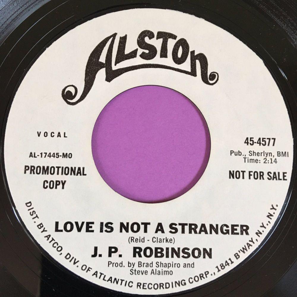 J.P Robinson-Love is not a stranger-Alston WD E+