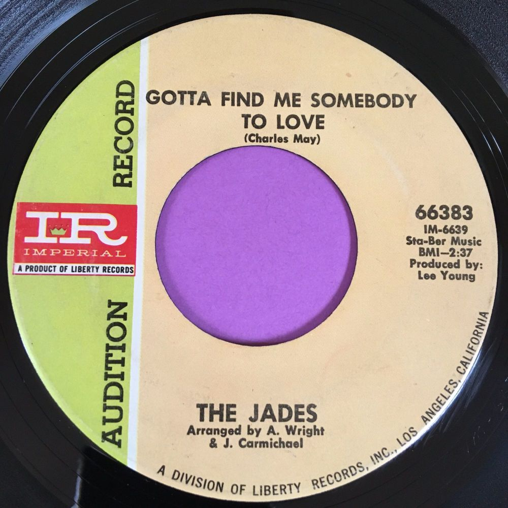 Jades-Gotta find me someone to love-Imperial demo E