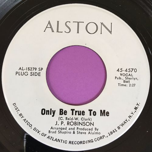 J.P Robinson-Only be true to me-Alston WD E+