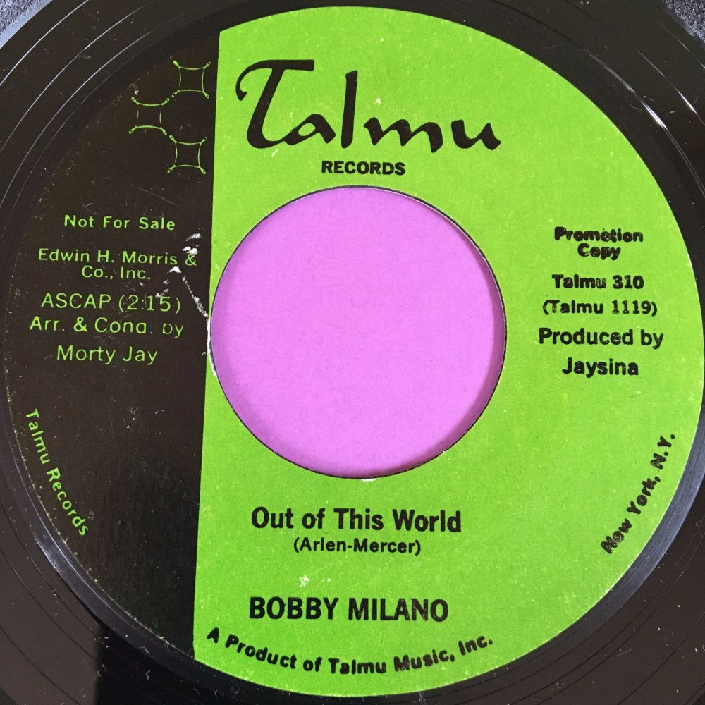 Bobby Milano-Out of this world-Talmu E+