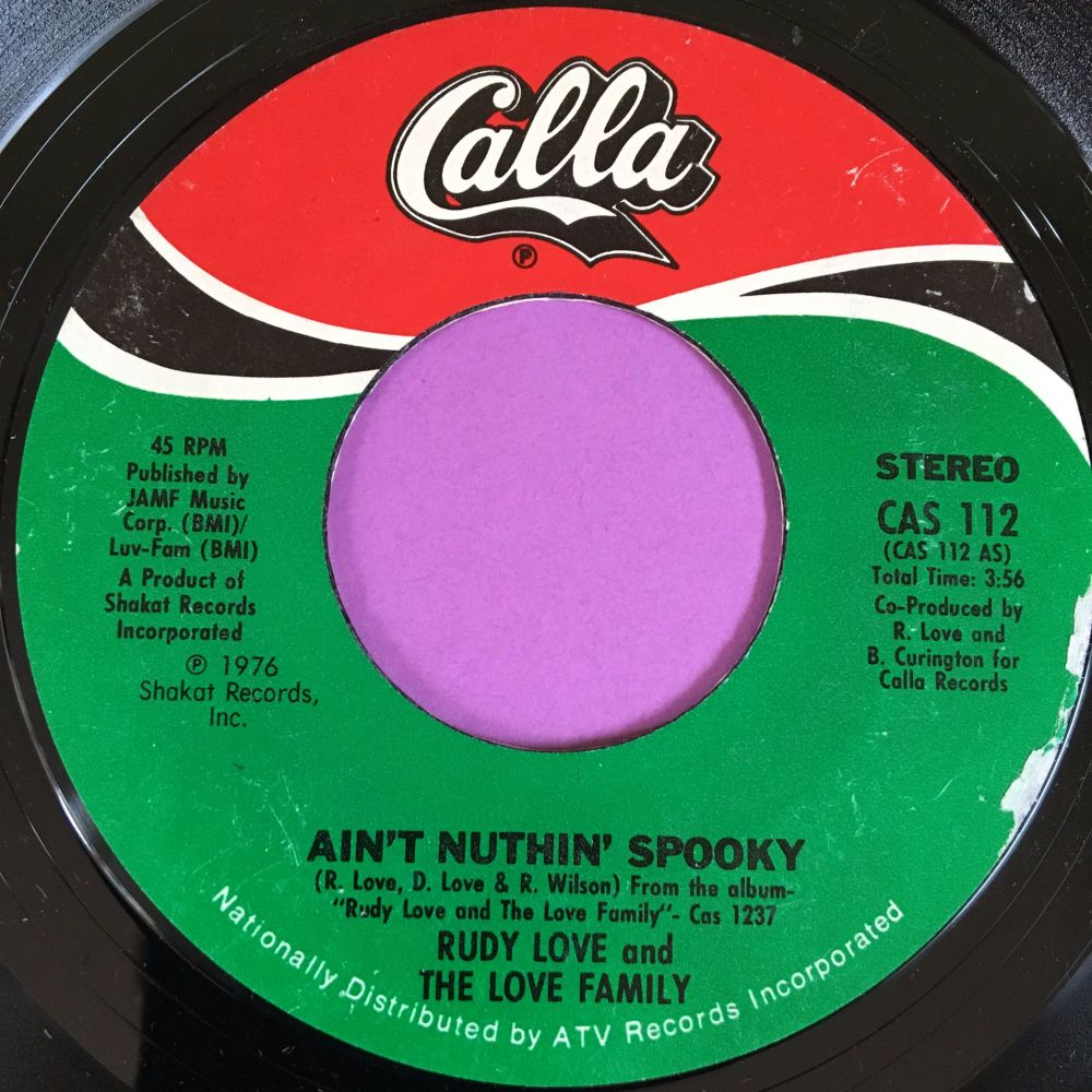 Rudy Love-Ain't nuthin' spooky-Calla E