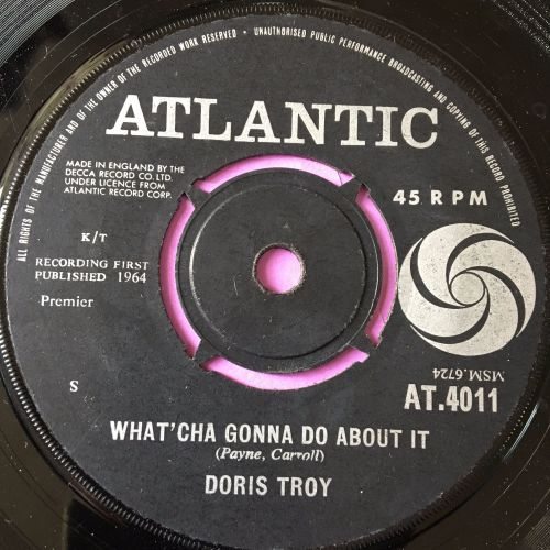 Doris Troy-What'cha gonna do about it-UK Atlantic E+