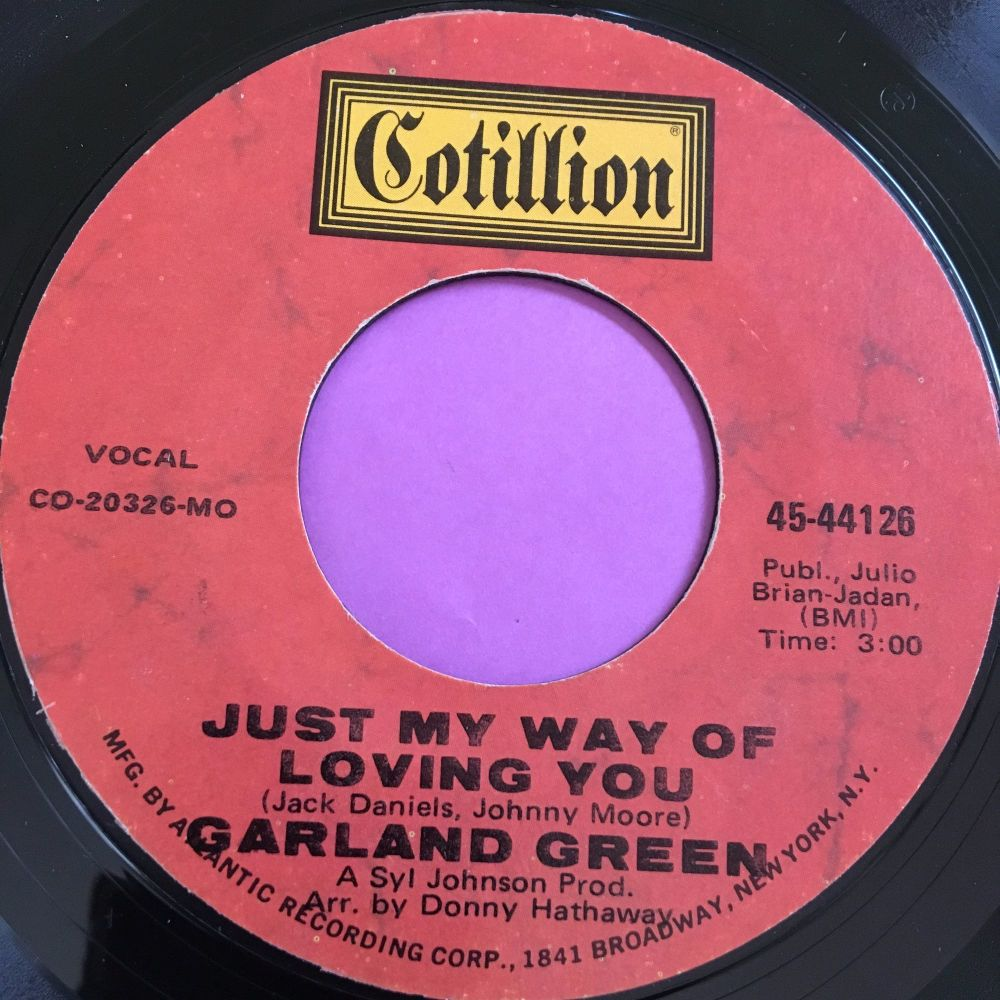 Garland Green-Just my way of loving you-Cotillion E+