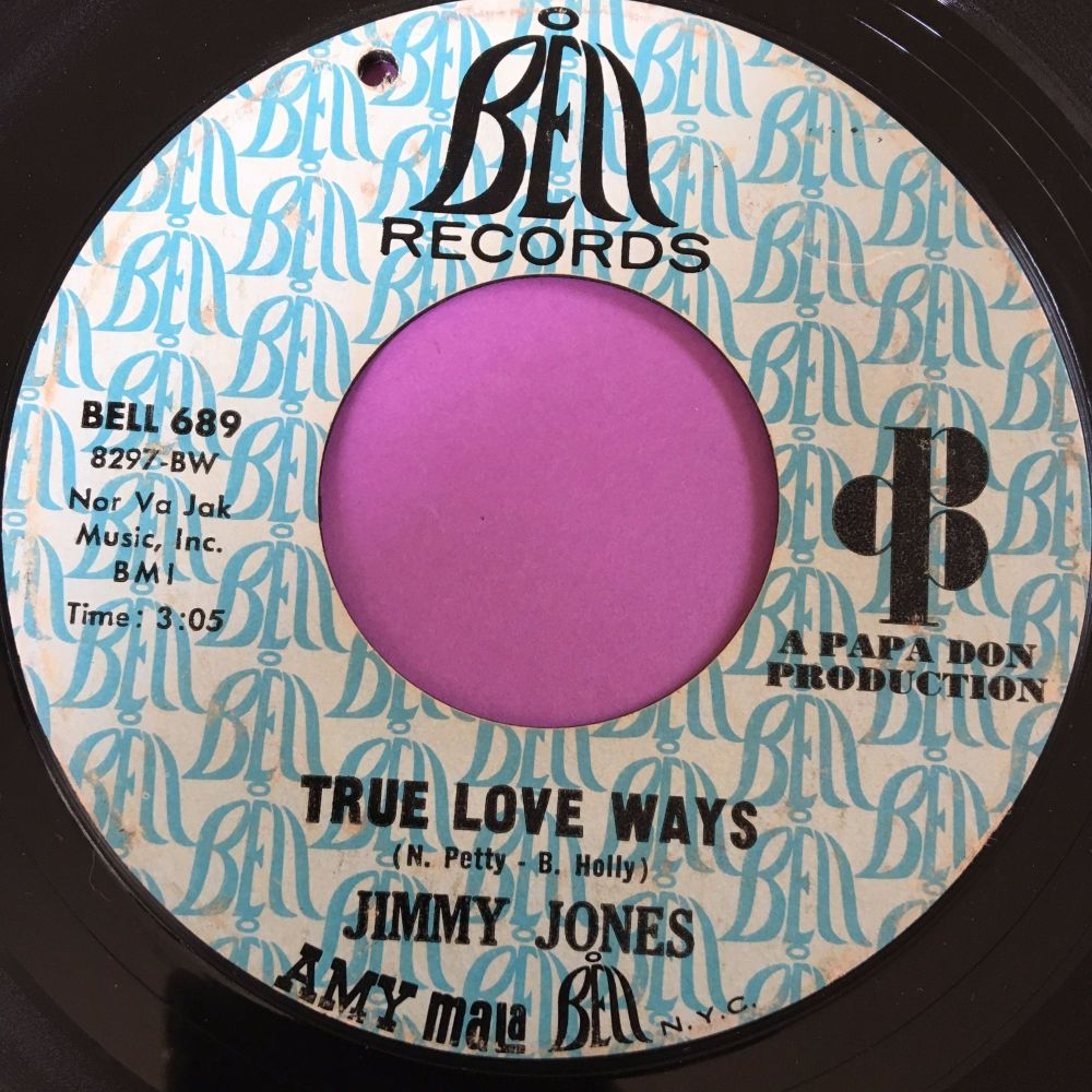 Jimmy Jones-True love ways-Bell demo E-