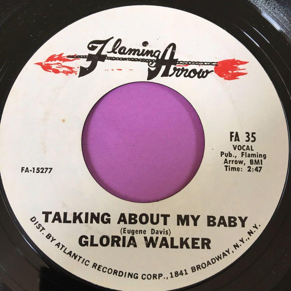 Gloria Walker-Talking about my baby-Flaming arrow E+