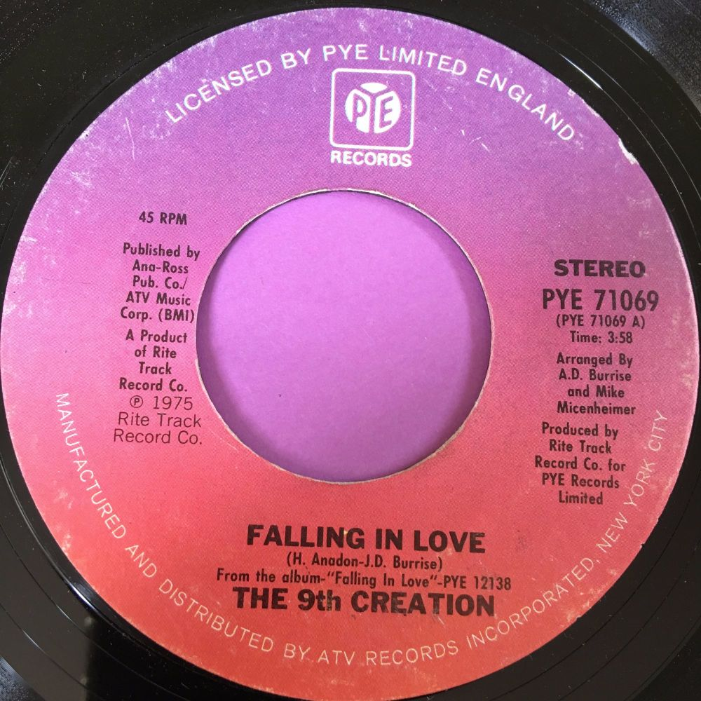 9th Creation-Falling in love-Pye E+