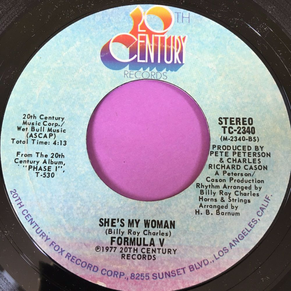 Formula V-She's my woman-20th century E+