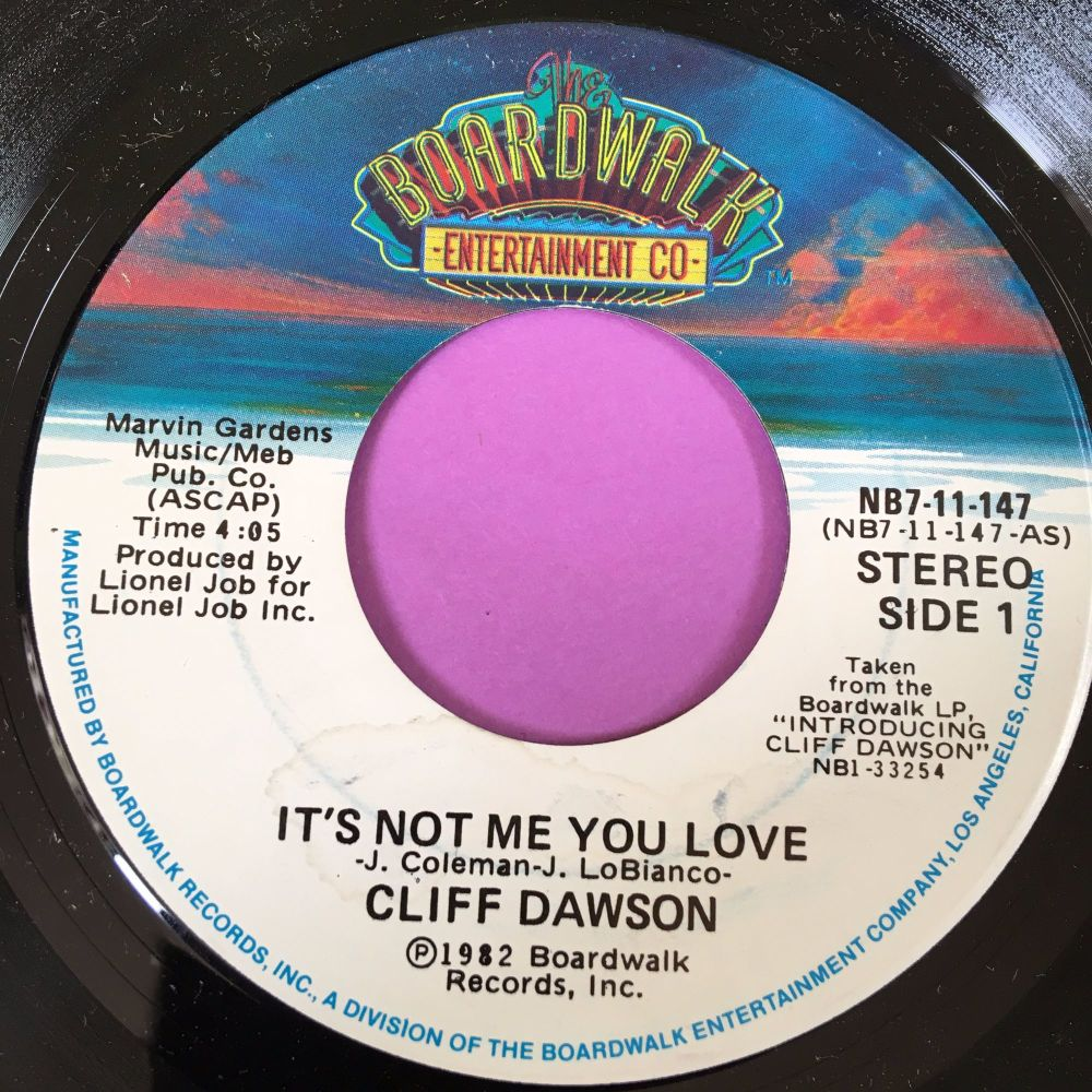 Cliff Dawson-It's not me you love-Boardwalk E+