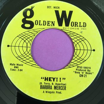 Barbara Mercer-Hey-Golden world E