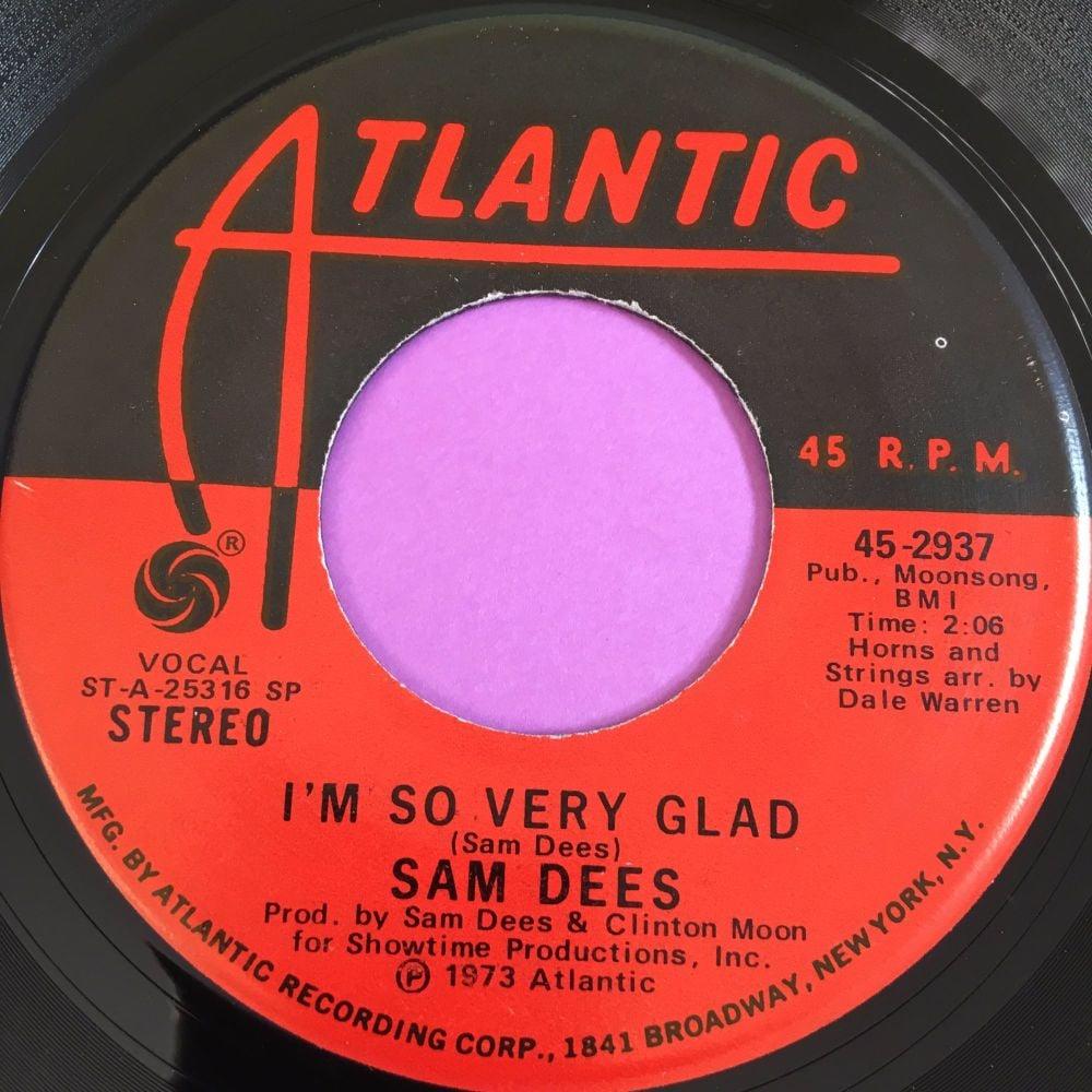 Sam Dees-I'm so very glad-Atlantic E+