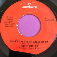 Jerry Butler-What's the use of breaking up-Mercury E+