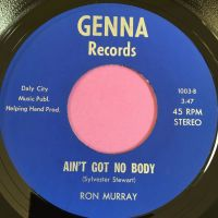 Ron Murray-Ain't got nobody/My first day of spring-Genna E+