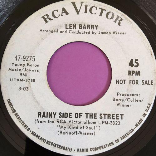 Len Barry-Rainy side of the street-RCA WD E+