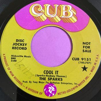 Sparks-Woe, woe-Cub wol E+