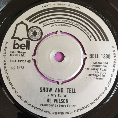 Al Wilson-Show and Tell-UK Bell E