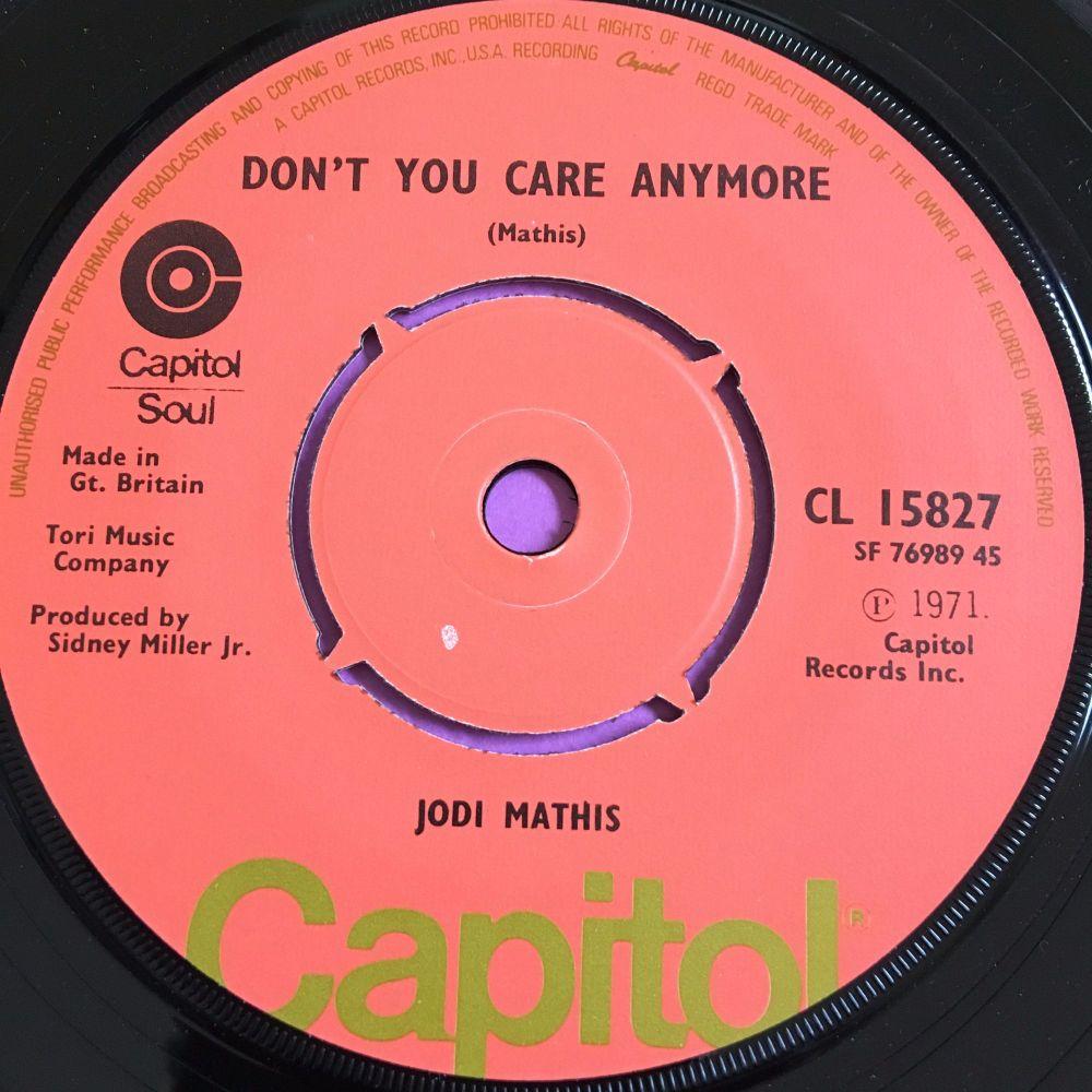 Jodi Mathis-Don't you care anymore-UK Capitol E+