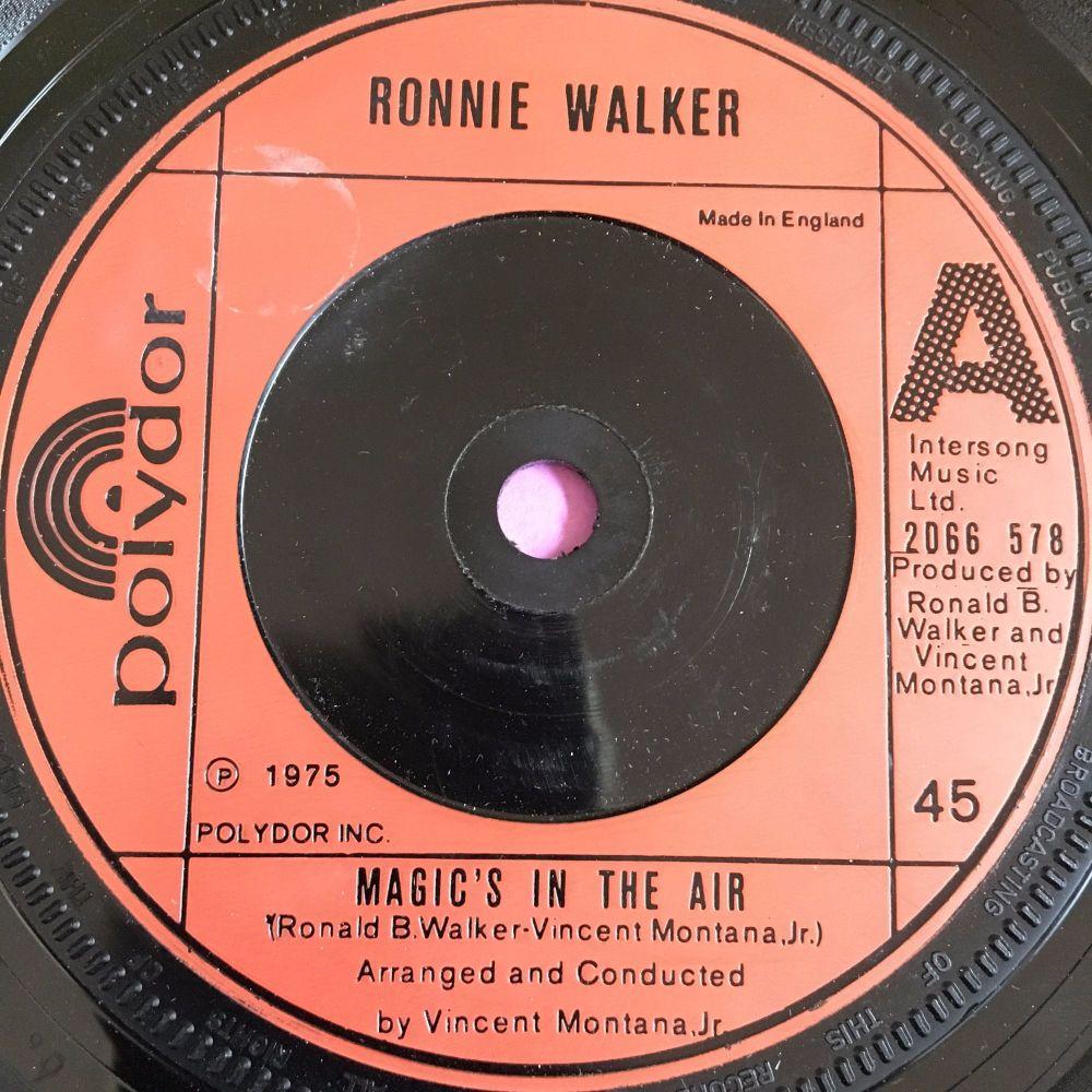 Ronnie Walker-Magic's in the air-UK Polydor E+