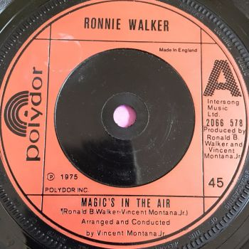 Ronnie Walker-Magic's in the air-UK Polydor E+