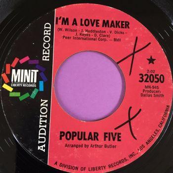 Popular Five-I'm a love maker-Minit Demo E+
