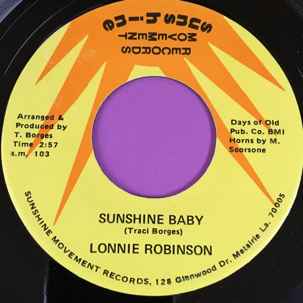 Lonnie Robinson-Sunshine baby-Sunshine movement E+