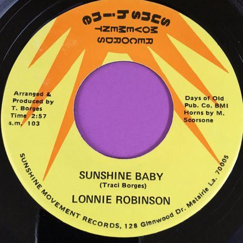 Lonnie Robinson-Sunshine baby-Sunshine movement E+