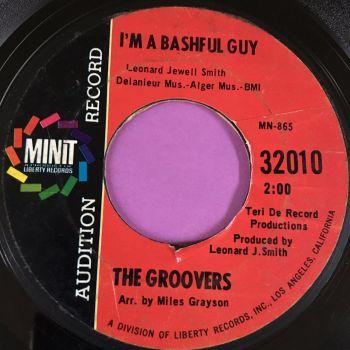 Groovers-I'm a bashful guy-Minit demo vg+