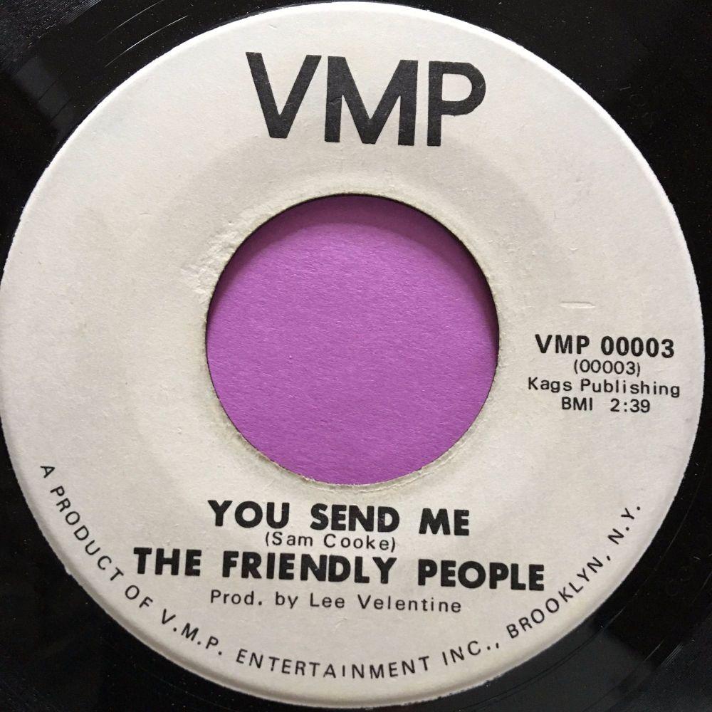 Friendly People-You send me-VMP  E