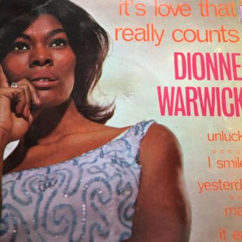 Dionne Warwick-It's love that really counts-UK Pye Int EP PS E+