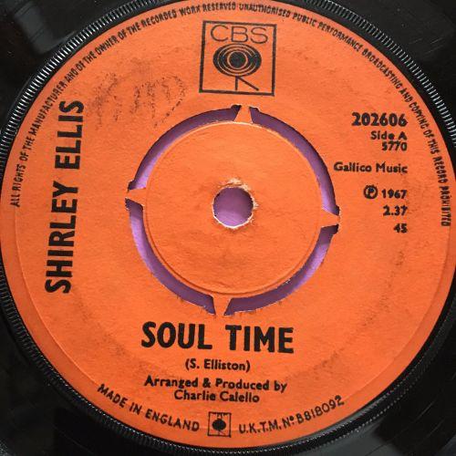 Shirley Ellis-Soul time-UK CBS vg+