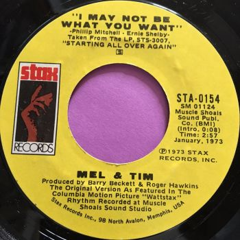 Mel & Tim-I may not be what you want-Stax E+