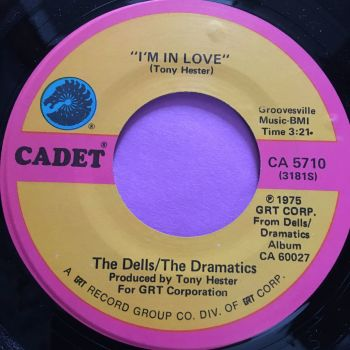Dells/Dramatics-I'm in love-Cadet E+
