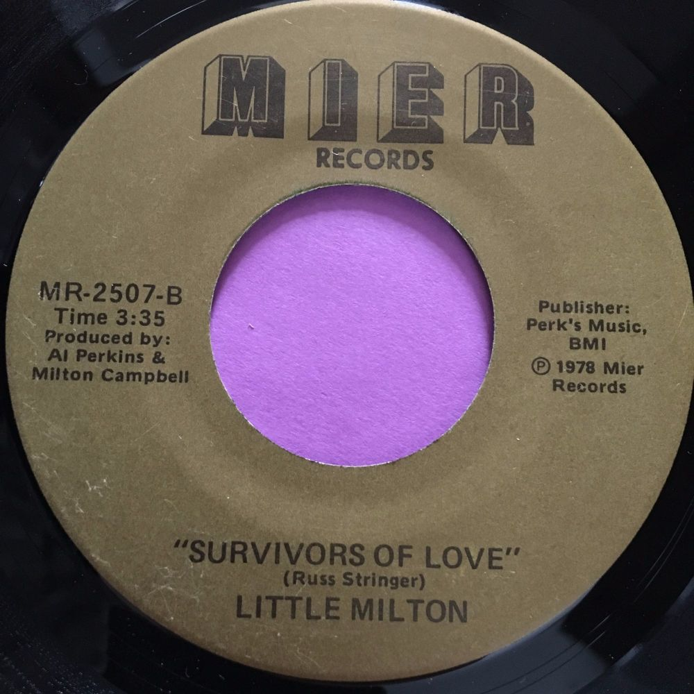 Little Milton-Survivors of love-Mier E