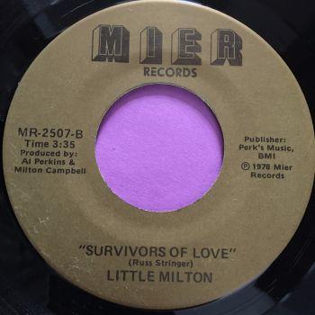 Little Milton-Survivors of love-Mier E