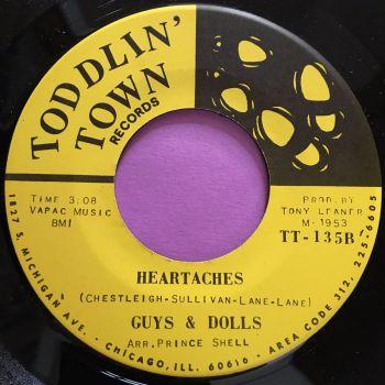 Guys & Dolls-Heartaches-Todlin' town E+