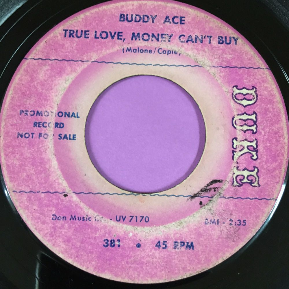 Buddy Ace-True love money can't buy-Duke demo vg