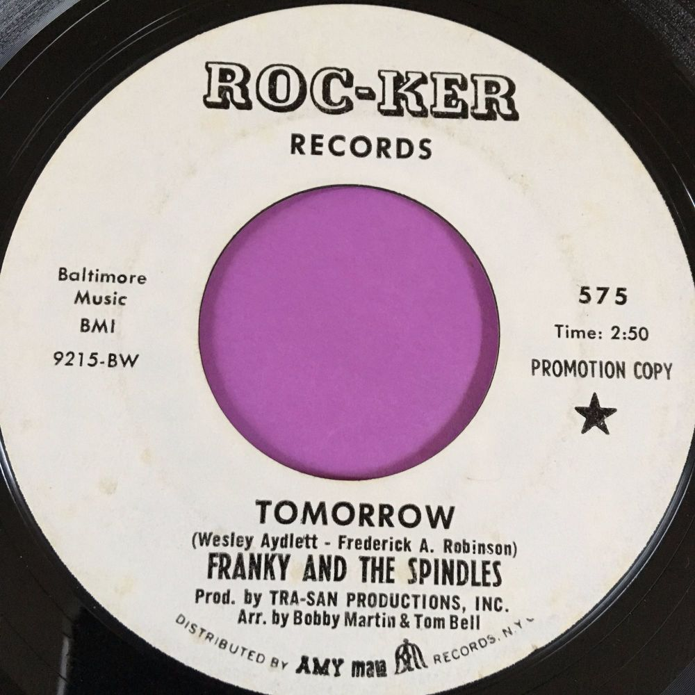 Franky and the Spindles-Tomorrow-Roc-ker WD E