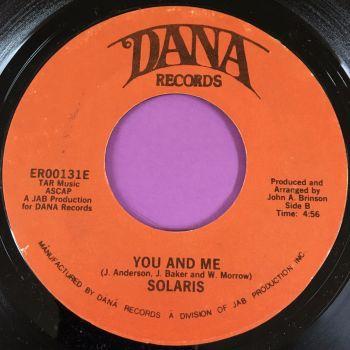 Solaris-You and me-Dana E+