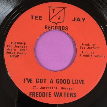 Freddie Waters-I've got a good idea-Tee Jay E+