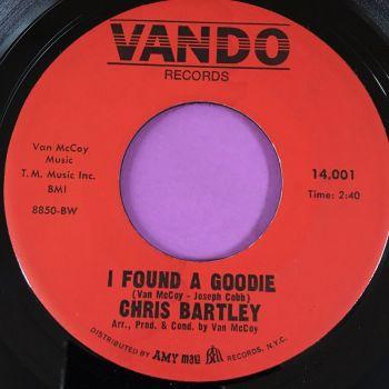 Chris Bartley-I found a  goodie-Vando E