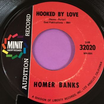 Homer Banks-Hooked by love-Minit Demo E+