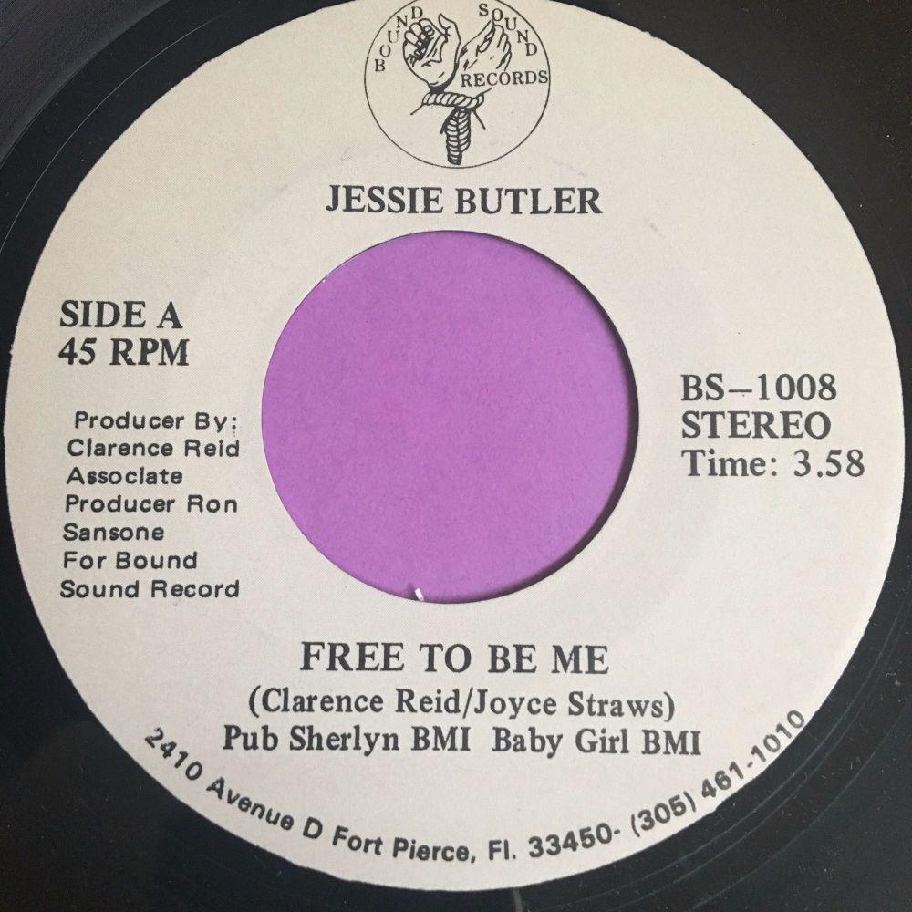 Jessie Butler-Free to be me-Bound sound M-