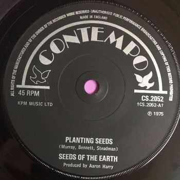 Seeds of the earth-Planting seeds-UK Contempo M-