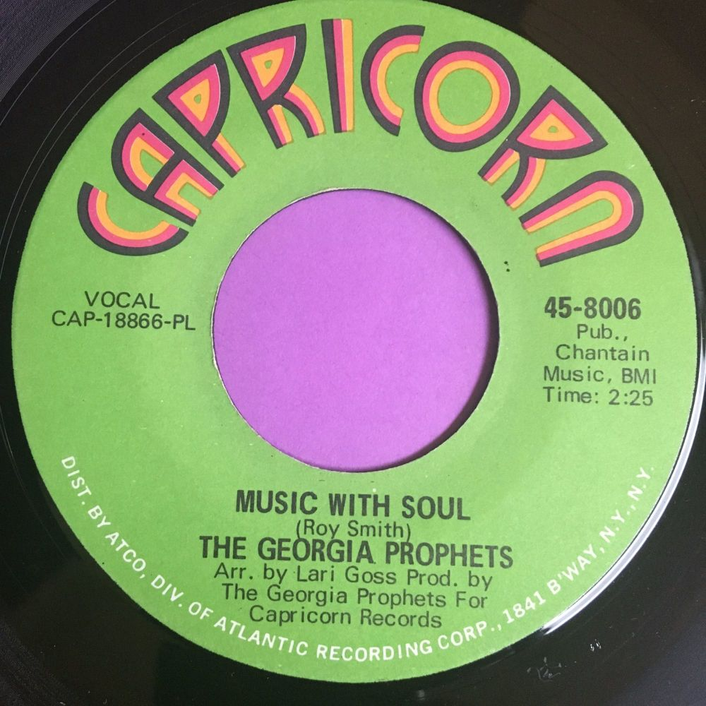 Georgia Prophets-Music with soul-Capricorn E+