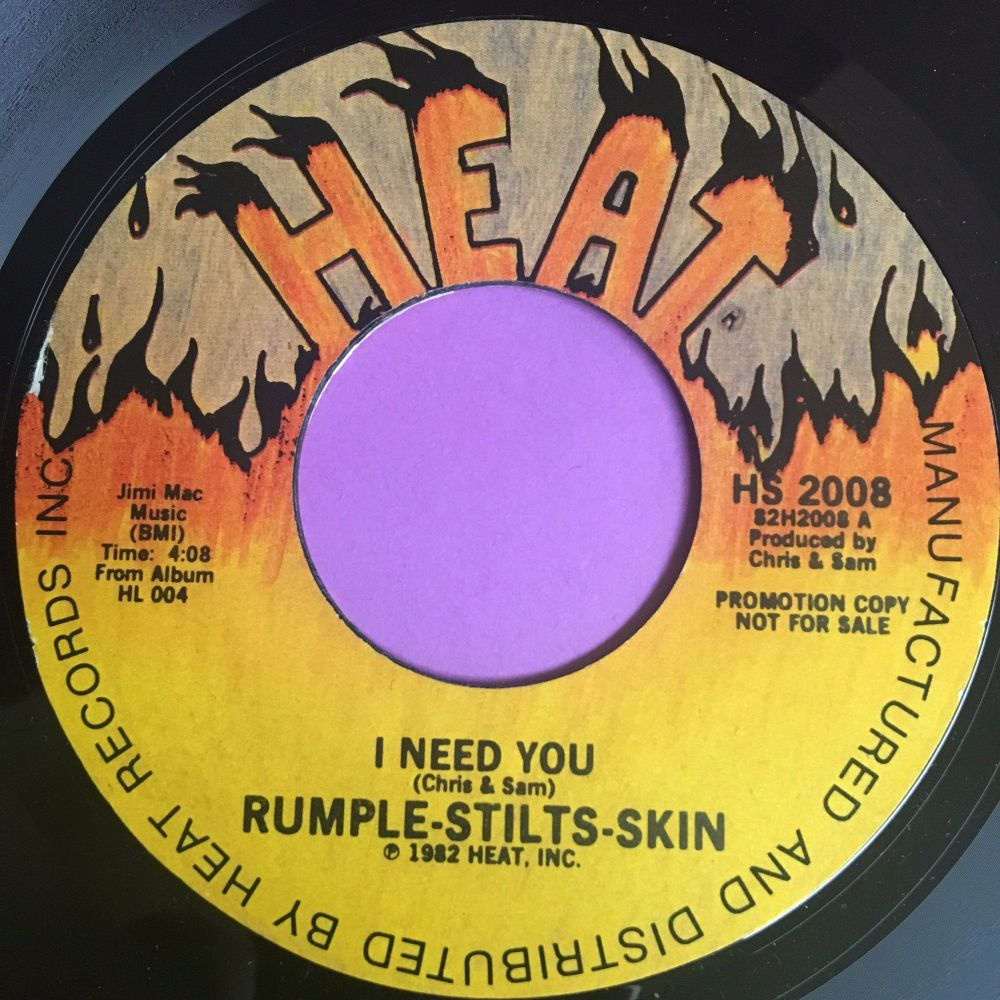 Rumplestiltskin-I need you-Heat E+